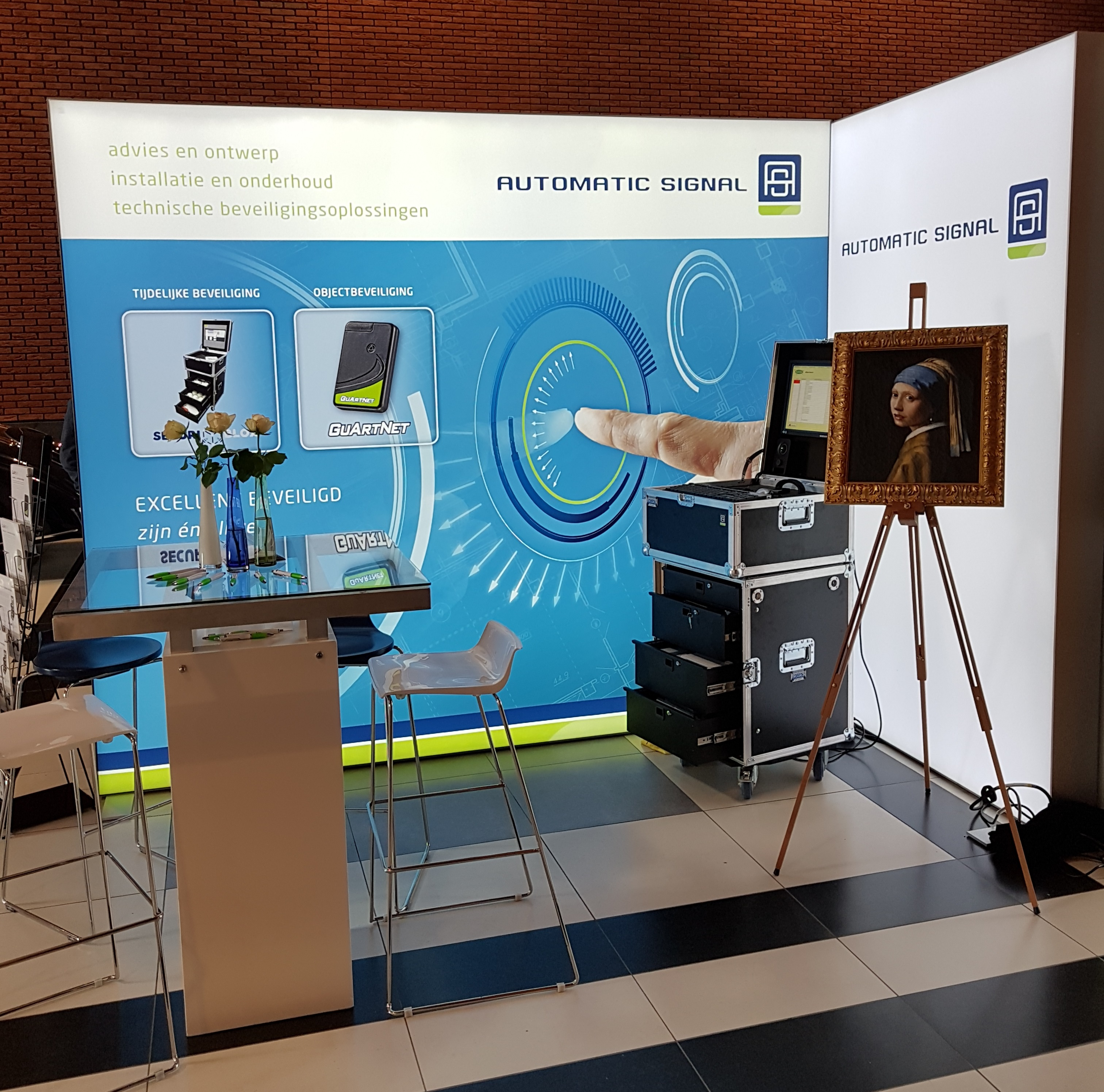 Stand Automatic Signal op Museumkennisdag 2017